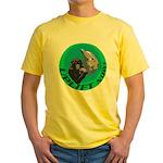 Earth Uplift Center Basic Yellow T-Shirt