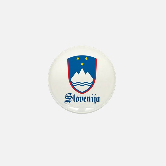Slovenia Mini Button