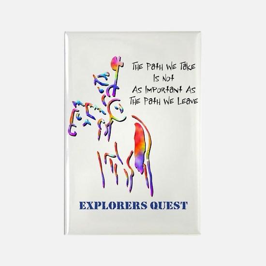 Explorers Quest Rectangle Magnet