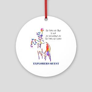 Explorers Quest Ornament (Round)