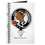 Borthwick Clan Crest Badge Journal