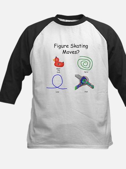 Skating Moves I - Kids Baseball Jersey