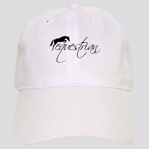 Equestrian w/ Jumping Horse Cap