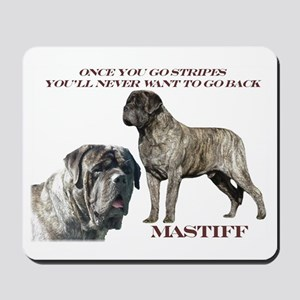 Mastiff Brindle Male Mousepad