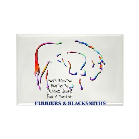 Farriers & Blacksmiths Rectangle Magnet