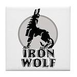 iron wolf Tile Coaster