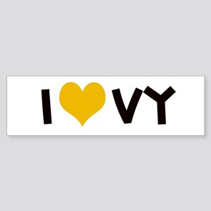I Love VY Bumper Sticker