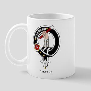 Balfour Clan Crest Badge Mug