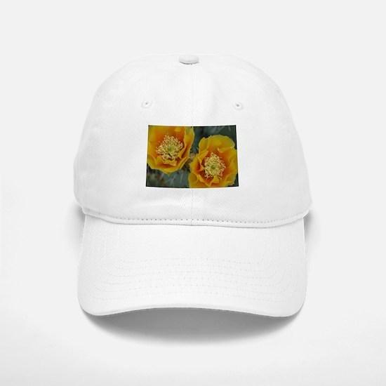 Yellow Cactus Flowers Baseball Baseball Cap
