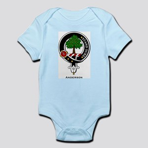 Anderson Clan Crest Badge Infant Creeper