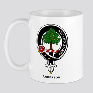 Anderson Clan Crest Badge Mug