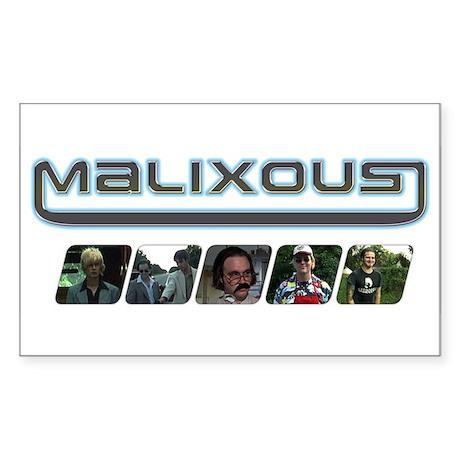 Malixous Rectangle Sticker