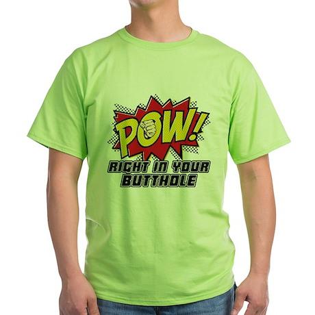 Pow! Green T-Shirt
