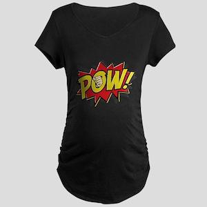 Pow! 2 Maternity Dark T-Shirt