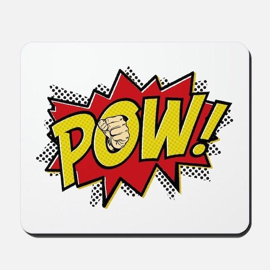 Pow! 2 Mousepad