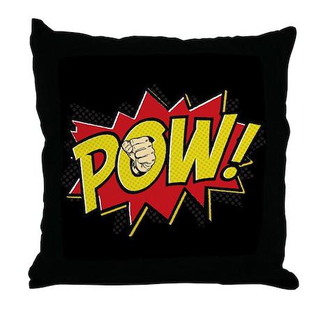 Pow! 2 Throw Pillow