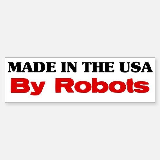 Made in the USA Sticker (Bumper)
