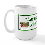 LetFoodBeYourMed Mugs