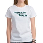 TshirtChiroFirst T-Shirt