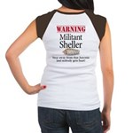 Militant Sheller Women's Cap Sleeve T-Shirt