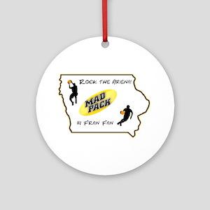 Iowa Mad Pack Ornament (Round)