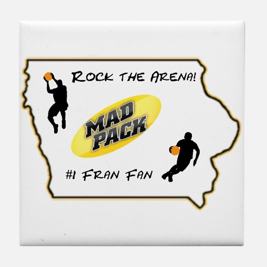 Iowa Mad Pack Tile Coaster