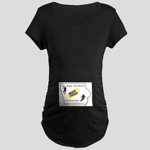 Iowa Mad Pack Maternity Dark T-Shirt