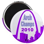 Arch Champions 2010 Magnet