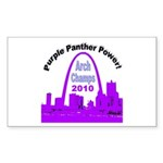 Arch Champions 2010 Sticker (Rectangle)