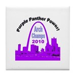 Arch Champions 2010 Tile Coaster