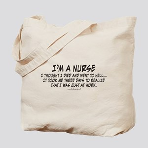 Nurse Hell Tote Bag