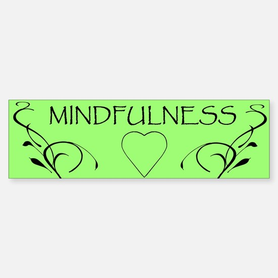 4-mindfulness_heart_bumper_sticker Bumper Bumper Bumper Sticker