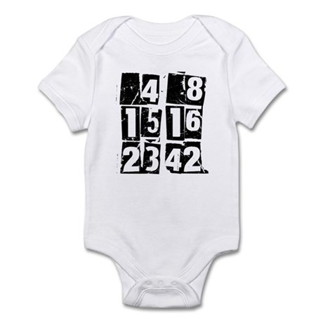 Lost Numbers [grunge] Infant Bodysuit
