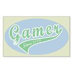 Gamer Sticker (Rectangle 50 pk)