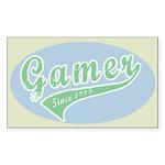 Gamer Sticker (Rectangle 10 pk)