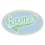 Gamer Sticker (Oval 50 pk)