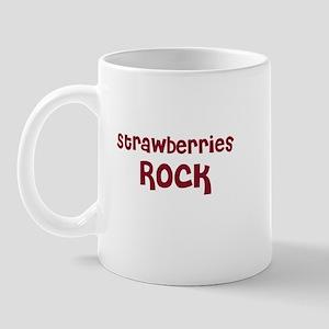 Strawberries Rock Mug