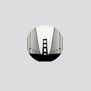 Bay Bridge Mini Button