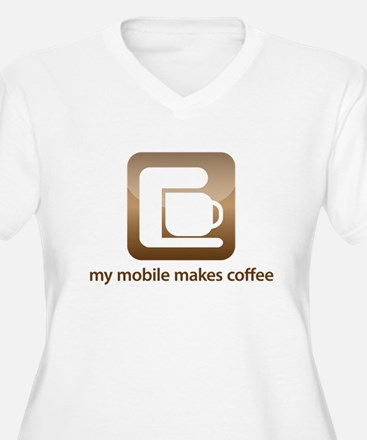my mobile makes coffee T-Shirt