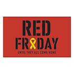 Red Friday Sticker