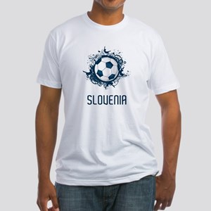 Slovenia Football Fitted T-Shirt