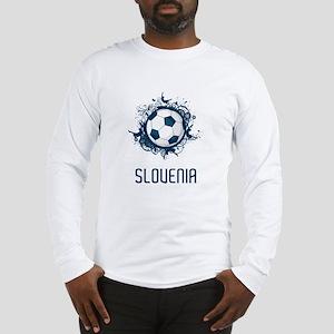 Slovenia Football Long Sleeve T-Shirt