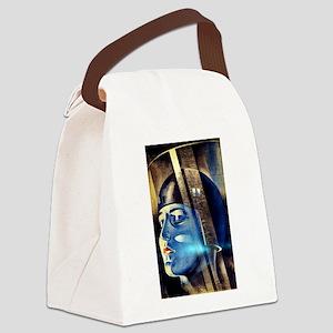 Vintage Iconic Metropolis Movie Canvas Lunch Bag