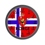 Norwegian / Norway Wall Clock