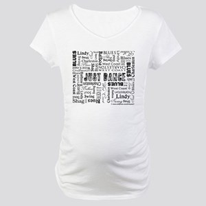 Just Dance Maternity T-Shirt