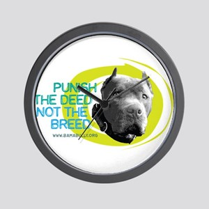 Punish the Deed Wall Clock