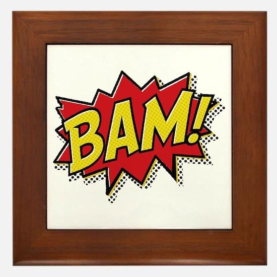 Bam! Framed Tile