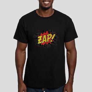 Zap! Men's Fitted T-Shirt (dark)