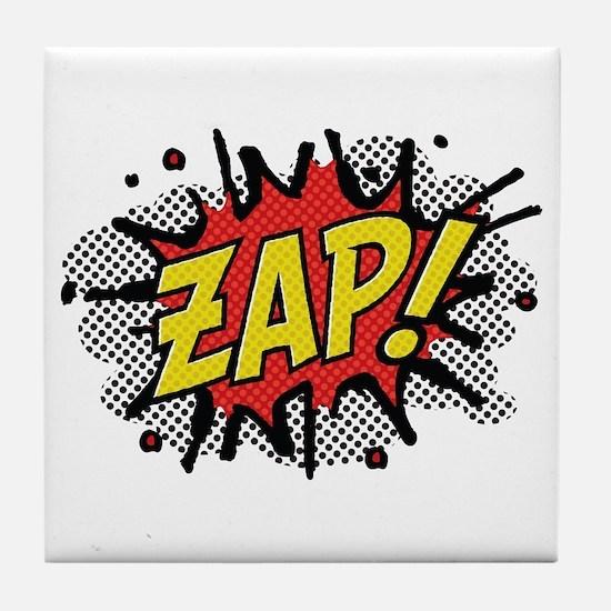 Zap! Tile Coaster