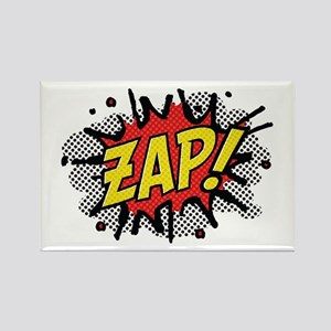 Zap! Rectangle Magnet